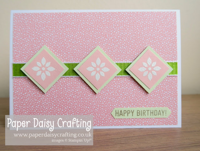 Detailed with Love Stampin Up Sketch challenge