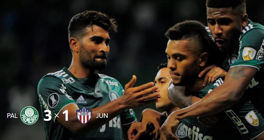e5cc547a2c Fernando Prass e Miguel Borja fizeram dois estádios pulsarem ao mesmo tempo  na noite desta quarta-feira  o show da dupla na vitória por 3 a 1 sobre o  Junior ...