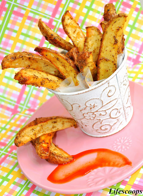 Healthier French Fries Fast Food