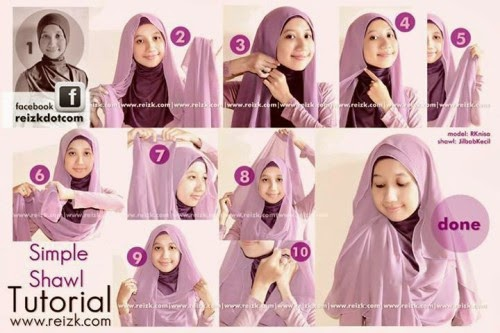 August 2014  Hijab Tubetorial