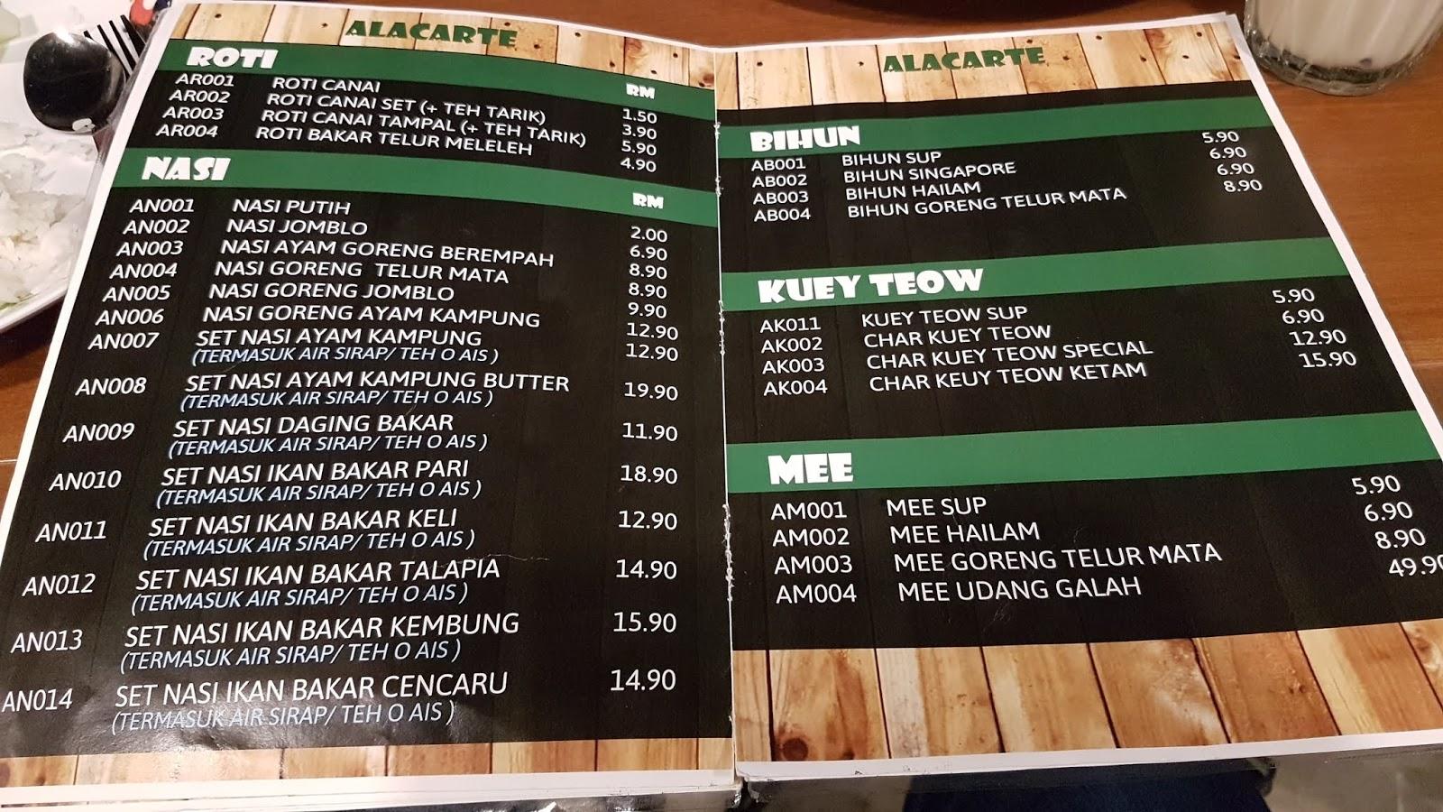 WANDERLUST DJ Ayam Kampung Velodrome Mesa Mall Nilai