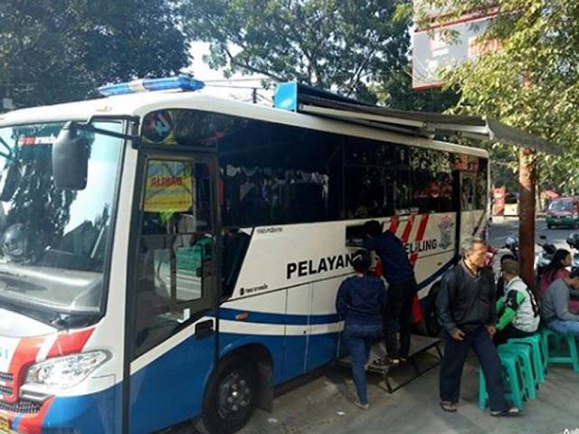 Jadwal SIM Keliling Polrestabes Bandung Bulan Agustus 2018