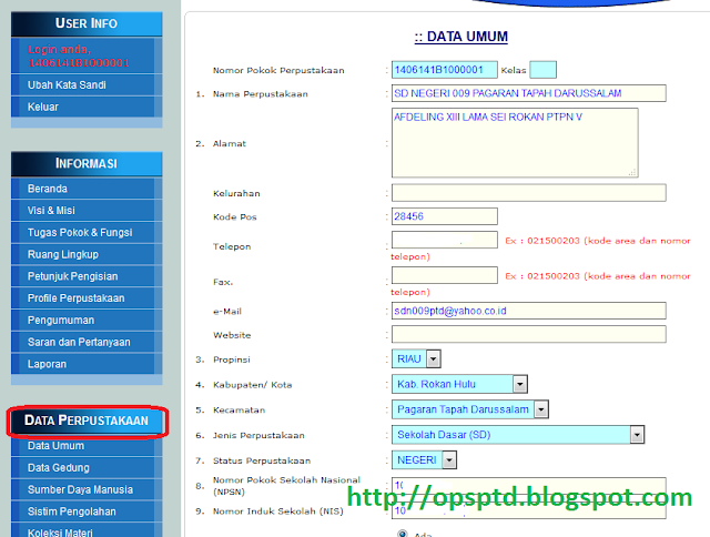Cara Registrasi NPP (Nomor Pokok Perpustakaan)
