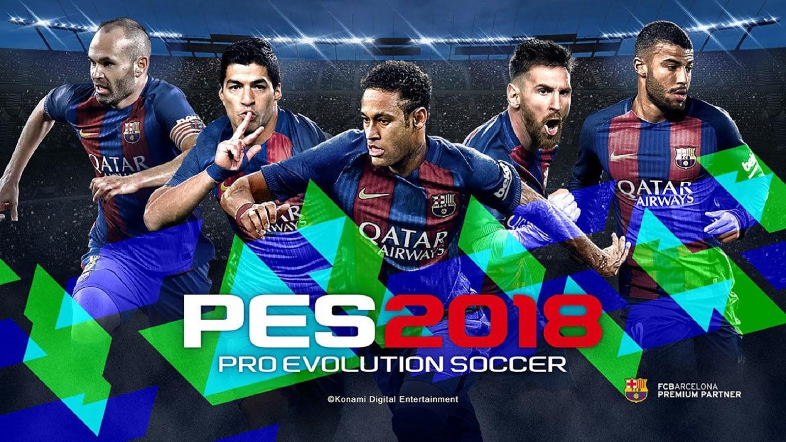 Pro Evolution Soccer (PES) 2018 Wallpapers