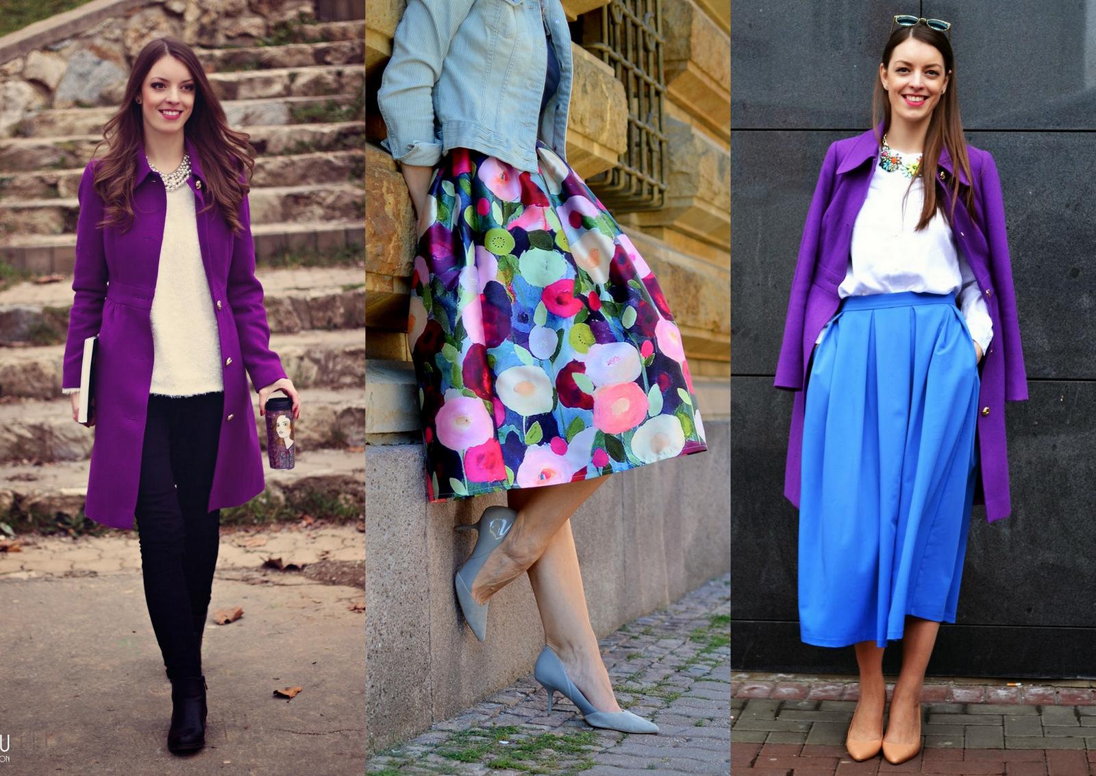 40fbcb5ce0d6 Fialovú v mojom šatníku nájdete v podobe kvetín na šatách a sukniach.  Takisto mám veľa letných aj zimných šálov a šatiek a najobľúbenejší kúsok  je už ...