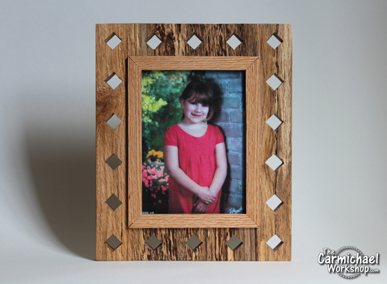Diamond Picture Frame by The Carmichael Workshop
