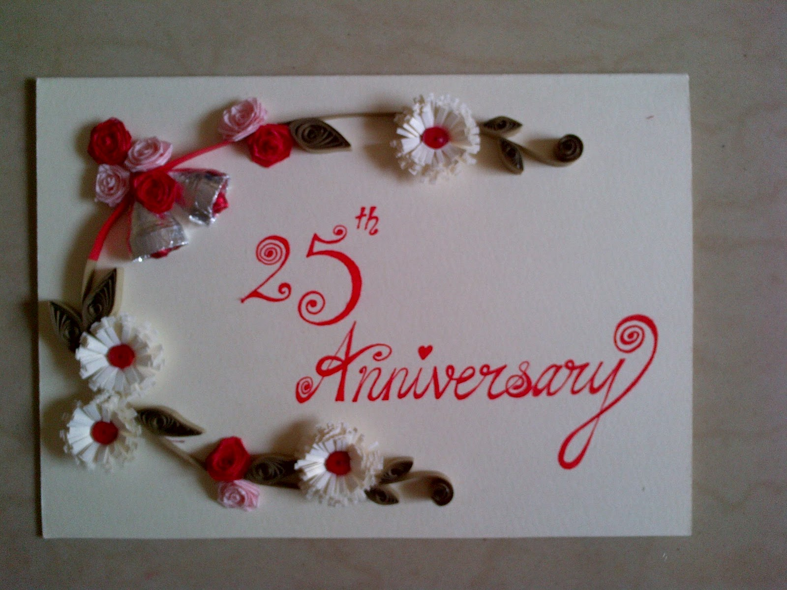 Art & Football: Quilled birthday and anniversary cards