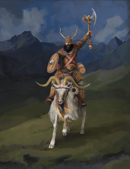 Goliath paladin  D&D