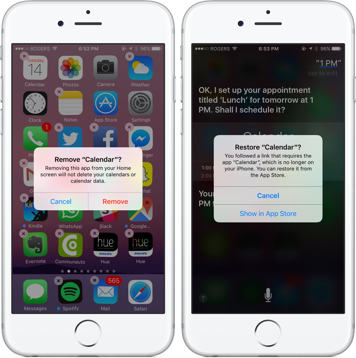 Which Stock Ios 10 Apps Are Removable?