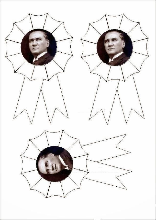 10 Kasım Okul Ve Sınıf Panoları Için Atatürk Görselleri Ve Hazır