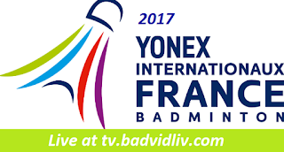 Yonex French Open 2017 live streaming and videos