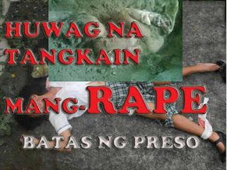 Huwag kang mang-rape