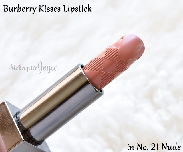 Burberry Kisses Lipstick in No.21 Nude Review Swatch