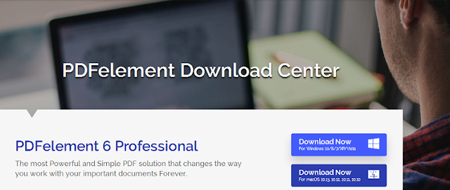 Download PDFelement 6 Standard vs PDFelement 6 Professional