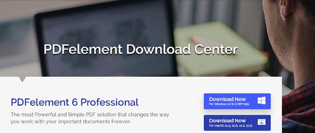 Download PDFelement 6 Standard vs PDFelement 6 Professional