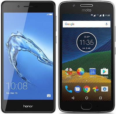 Honor 6C vs Motorola Moto G5 (2 GB RAM)