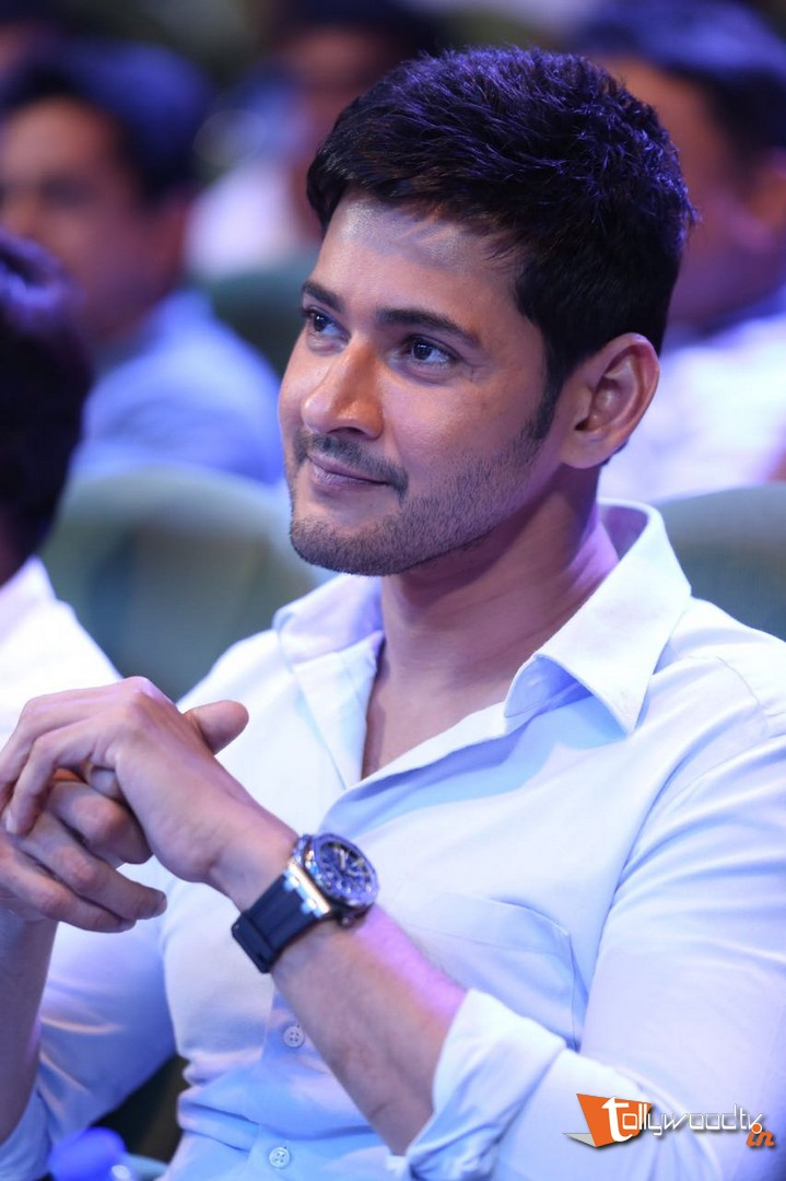 Mahesh Babu At Spyder Audio Launch-HQ-Photo-3