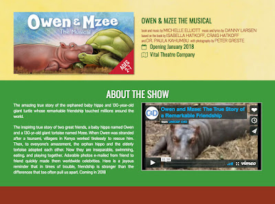web post of Owen and Mzee hippo and tortoise