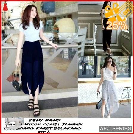 AFO696 Model Fashion Zeny Pans Modis Murah BMGShop