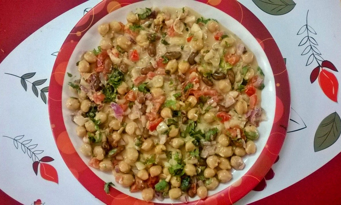 CHICKPEA BEAN SALAD