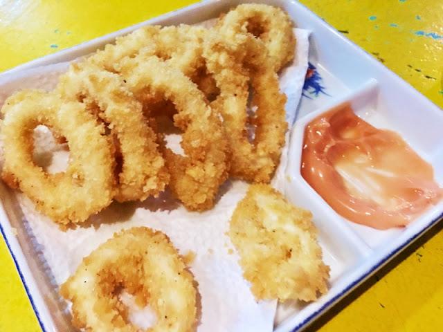 Calamares at Cafe Egao