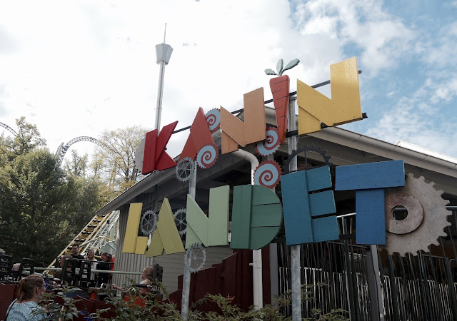 Photo of Kanin Landet Sign at Liseberg