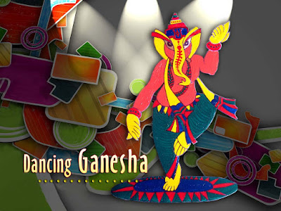 Dancing-Ganesha-with-colourfull-background