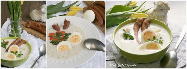 wielkanocny barszcz, zupa