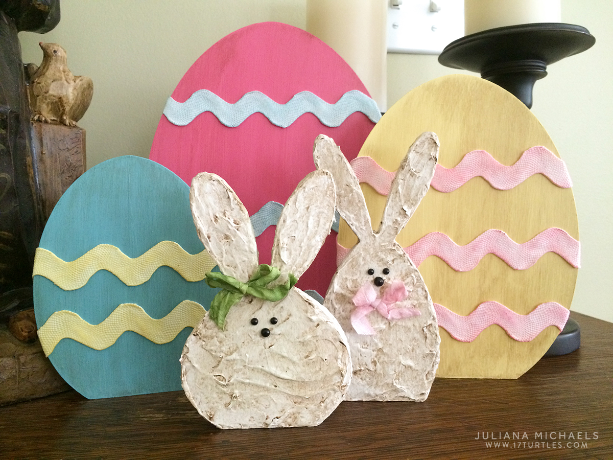 Diy Wooden Easter Decorations