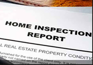 Home inspection report.