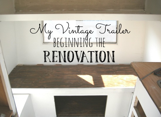My vintage trailer - beginning the renovation of a 1967 Scotsman