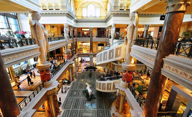 Forum Shops Caesars Palace Las Vegas