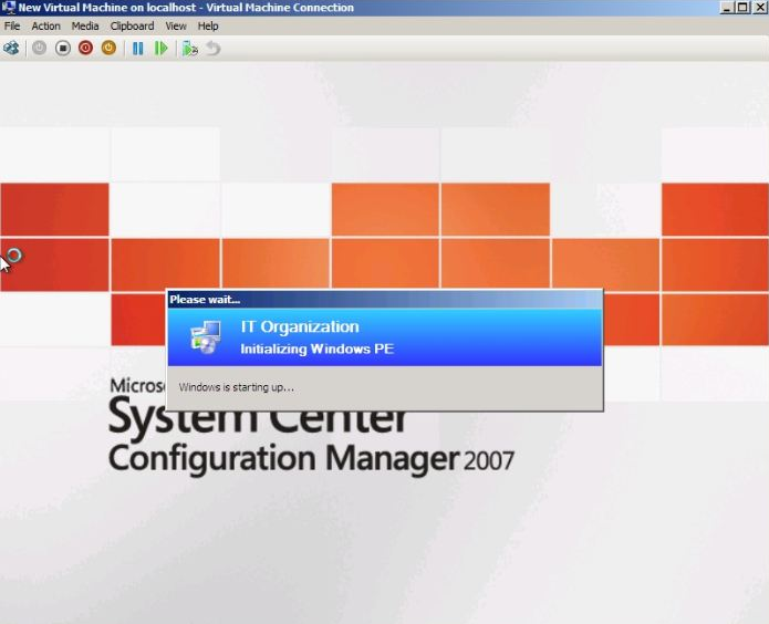 The Robot Archive: SCCM - Task Sequence Fail - Machine Reboots after