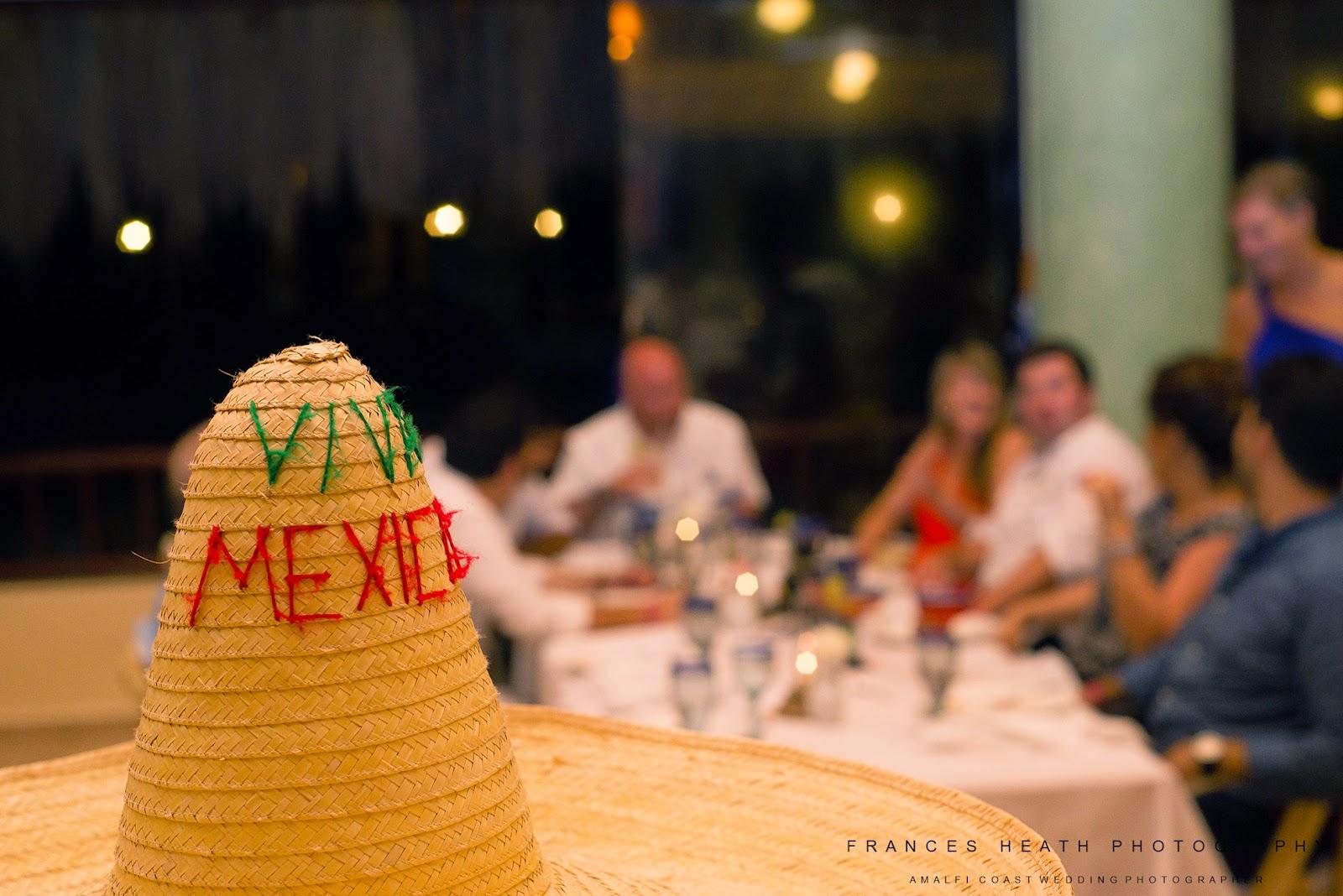Wedding reception Mexico