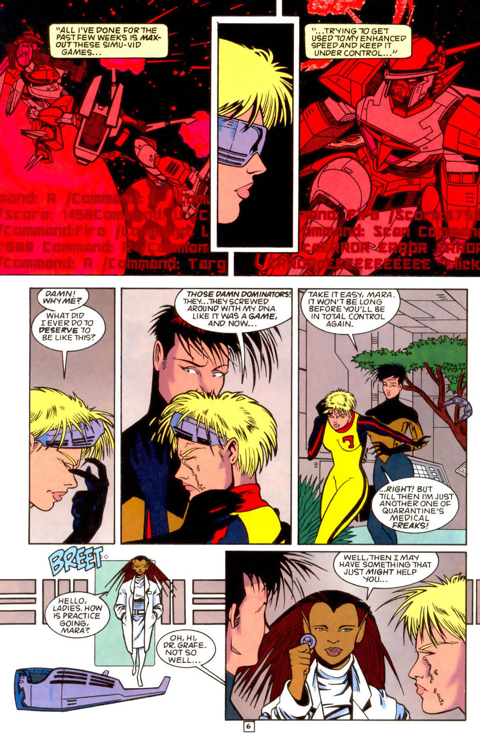 Legion of Super-Heroes (1989) 51 Page 6