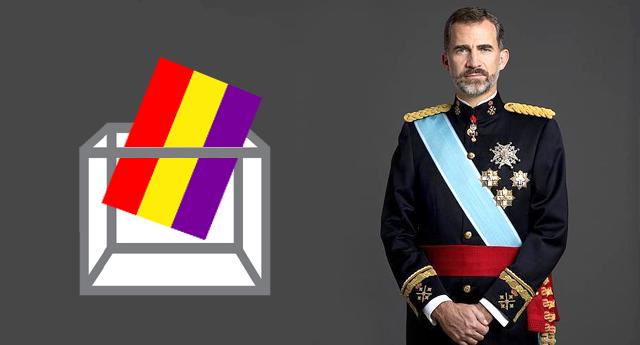 Estudiantes de tres Universidades se unen para realizar un referéndum sobre Monarquía o República