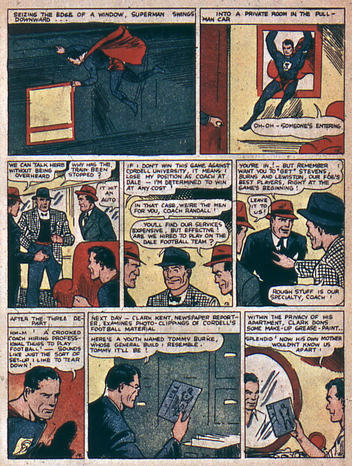 Read online Action Comics (1938) comic -  Issue #4 - 6