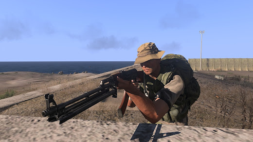 Arma3用AK MODのRPK