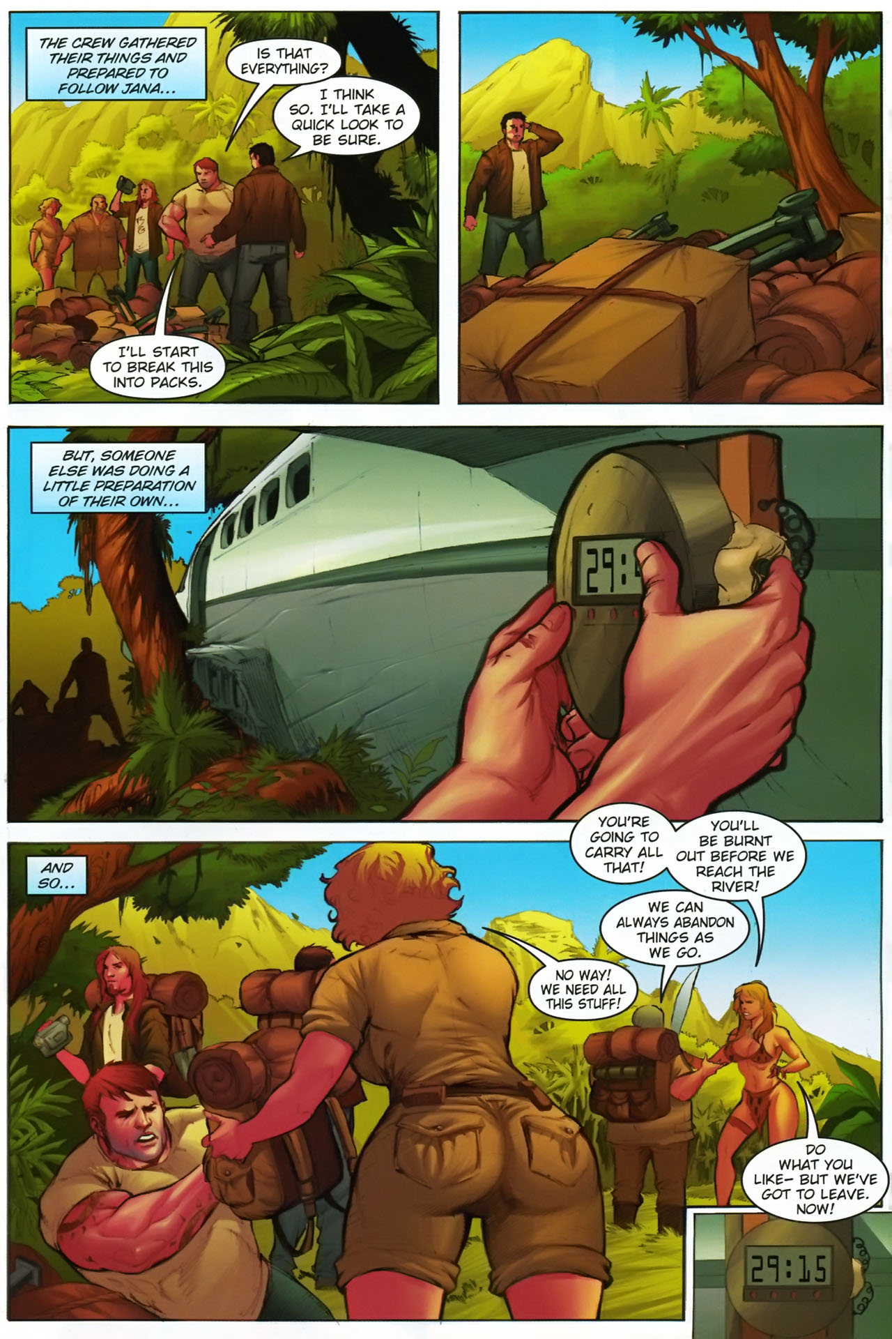 Read online Jungle Girl comic -  Issue #1 - 14