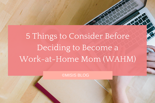 things to consider wahm - online job work from home