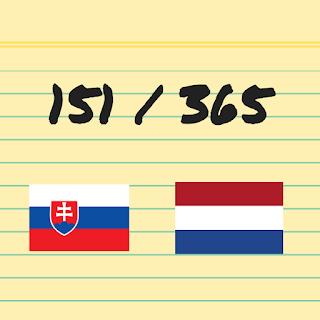 151 van 365: Nederland tegen Slowakije