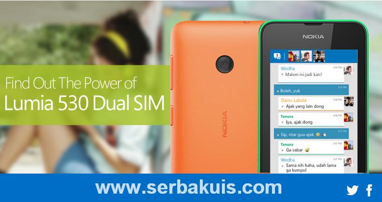Kuis Facebook Berhadiah Nokia Lumia 530 Dual SIM Terbaru