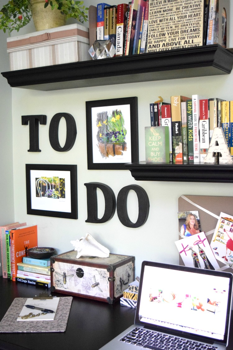 "A SIMPLE ""TO DO"" WALL PROJECT 