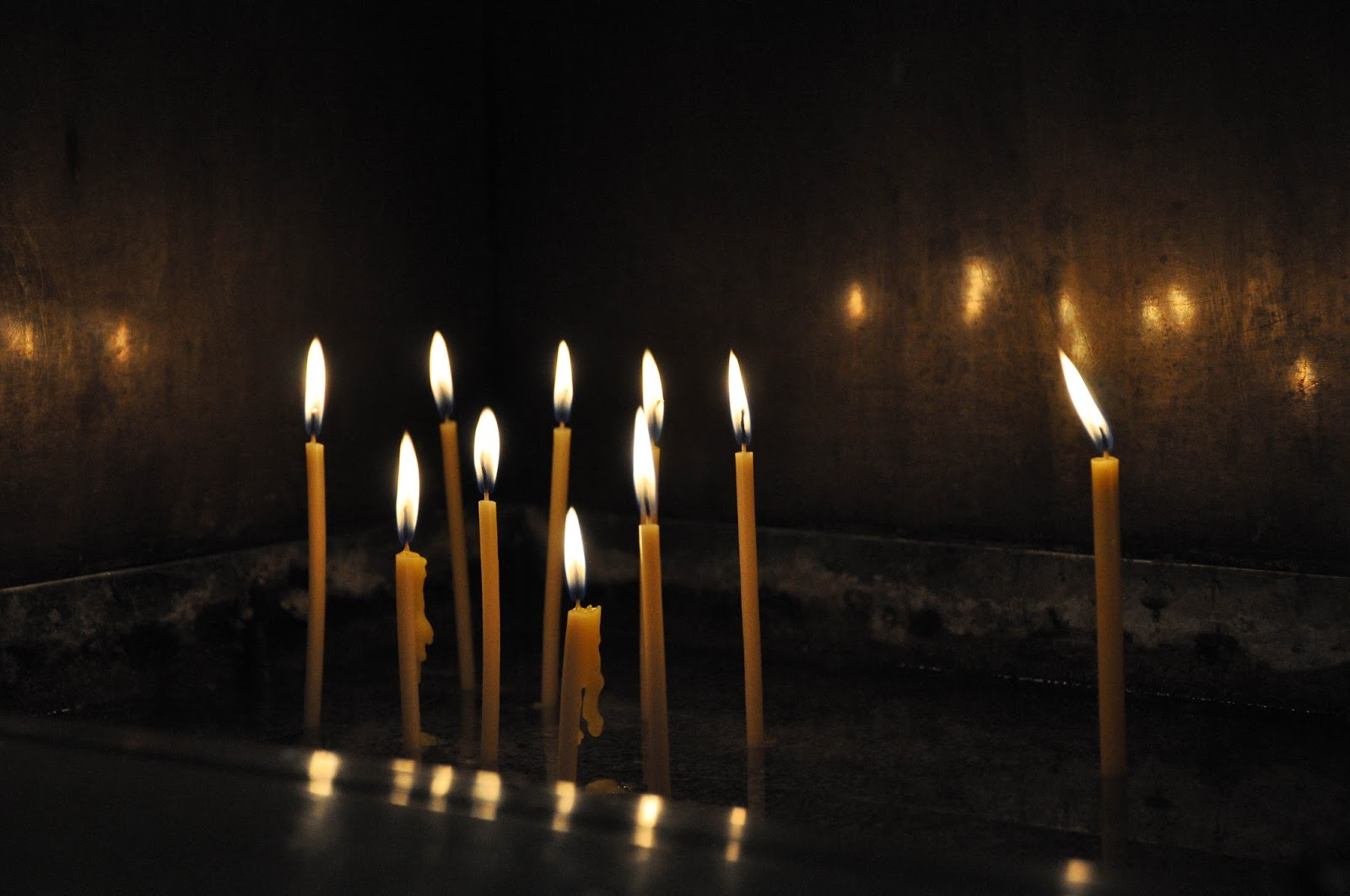 Candles, Dormition of the Mother of God Cathedral, Varna