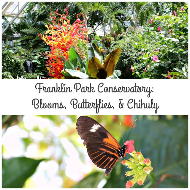 Beautiful blooms, fluttering butterflies, & colorful glass sculptures await you at the Franklin Park Conservatory in Columbus, Ohio.