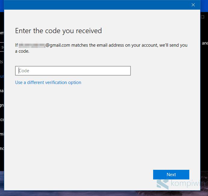 Cara Verifikasi Akun Microsoft di Windows 10 2