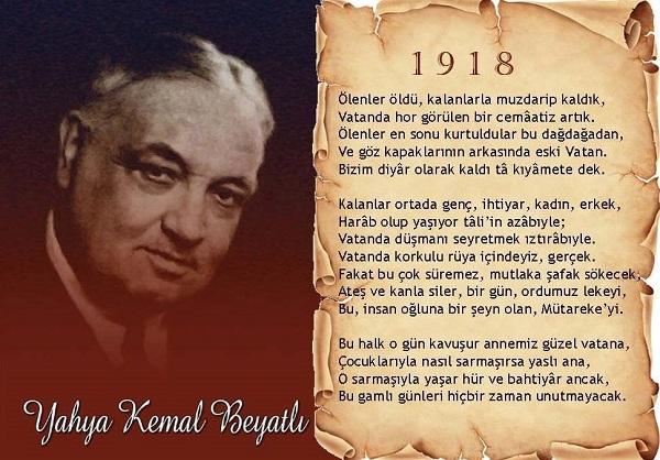 Ölenler Öldü Yahya Kemal