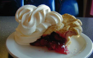 "Twede's Cafe's cherry pie made famous by ""Twin Peak"" TV series"