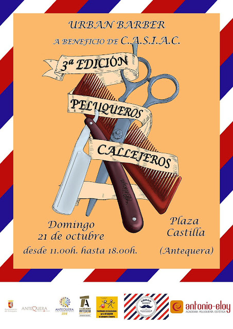 III Peluqueros Callejeros Antequera