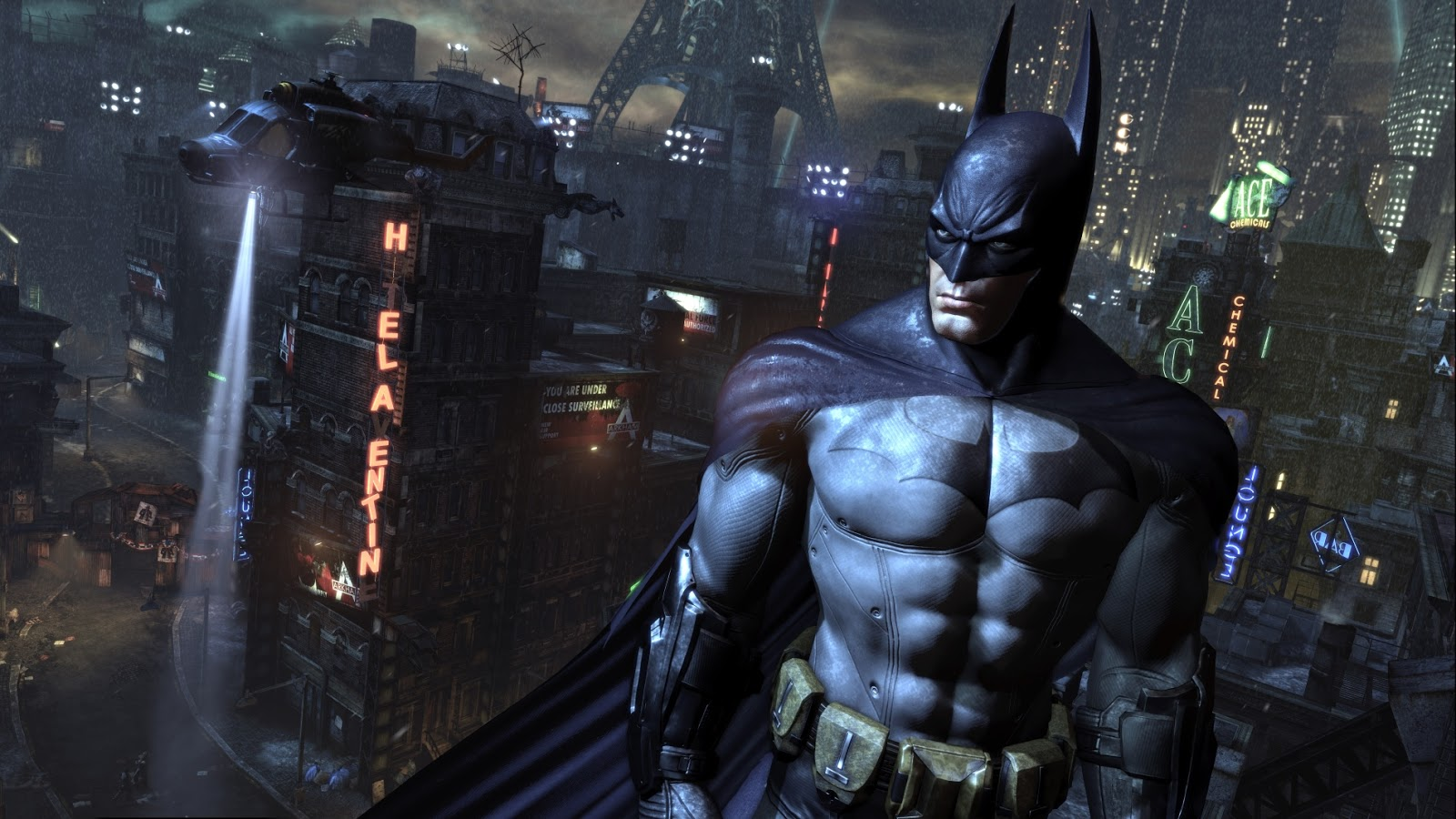 Intel Hd Graphics  Arkham City